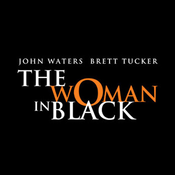 Woman in Black Australian Tout
